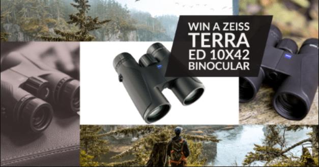 Ziess Terra ED 10x42 Binoculars