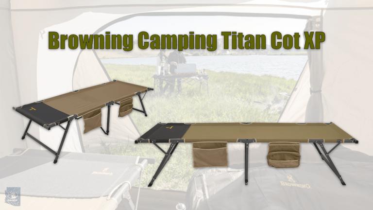 Browning Camping Titan Cot XP