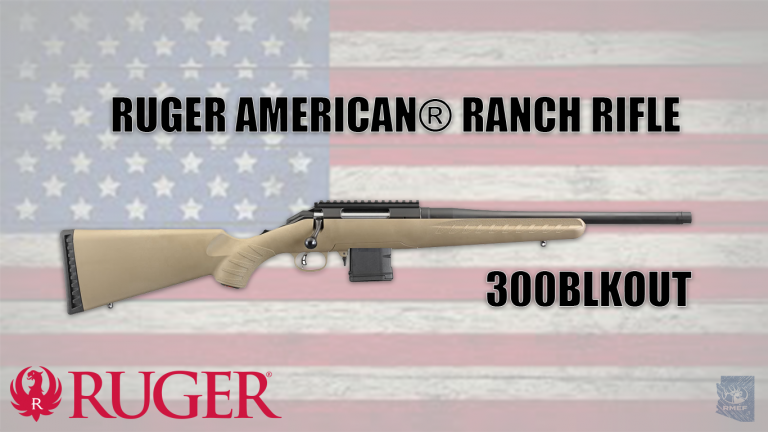 RUGER AMERICAN® RANCH RIFLE