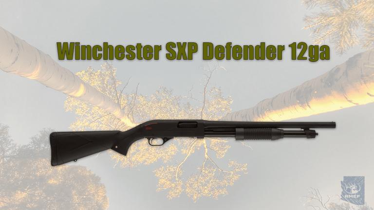 Winchester SXP Defender Matte Black 12ga