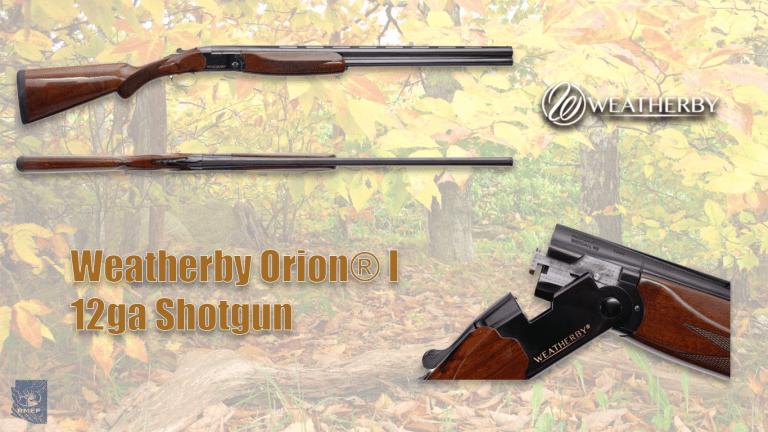 Weatherby Orion® I 12ga Shotgun