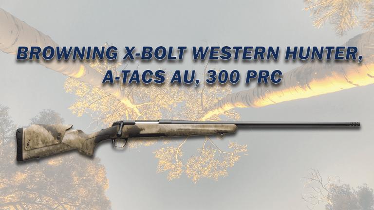 BROWNING X-BOLT WESTERN HUNTER, A-TACS AU, 300 PRC