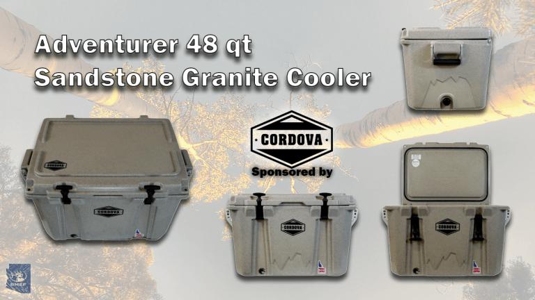 Adventurer 48 qt Sandstone Granite Cooler