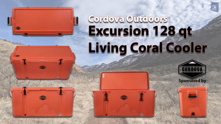 Excursion 128 qt Living Coral Cooler
